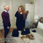 Adele shows Anderson Cooper her wig and hair topper collection